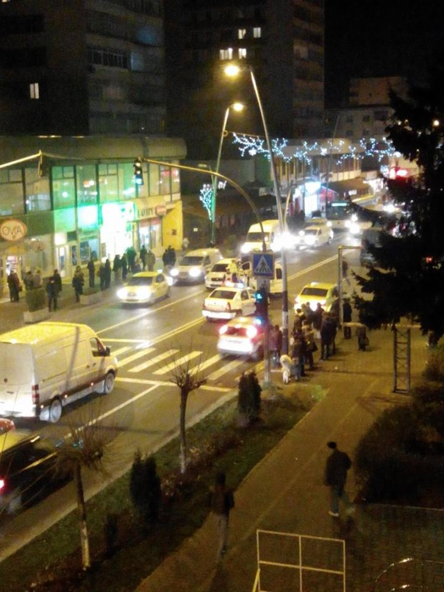 Bacau: Accident in zona Orizont