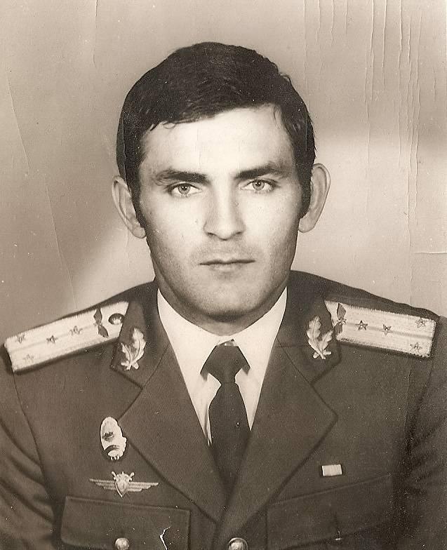Ioan Salagean, pe vremea cand era capitan