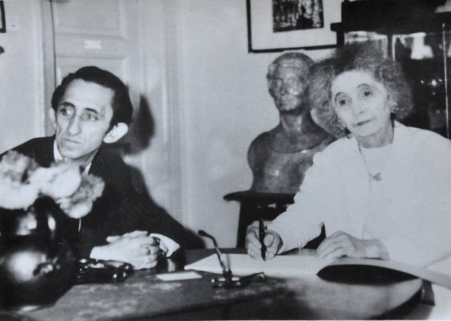 Agatha si Gabriel Bacovia