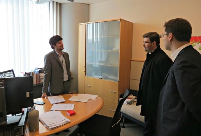 Cu Brando Benifei, europarlamentar italian