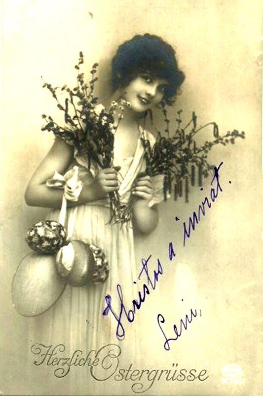 Ilustrata de Paste 1935