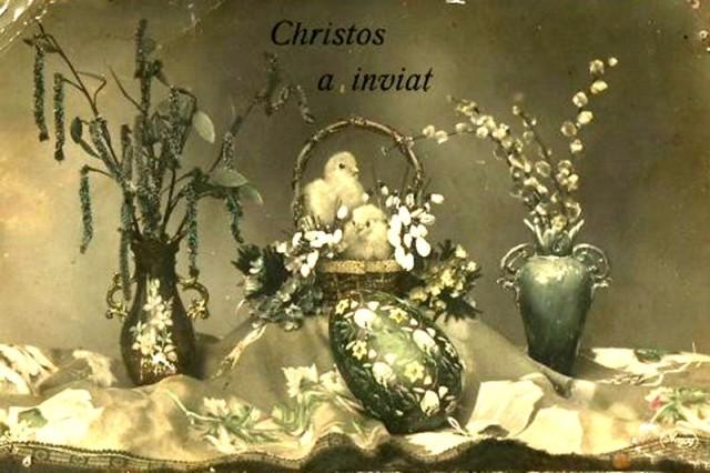 Ilustrata de Paste 1920