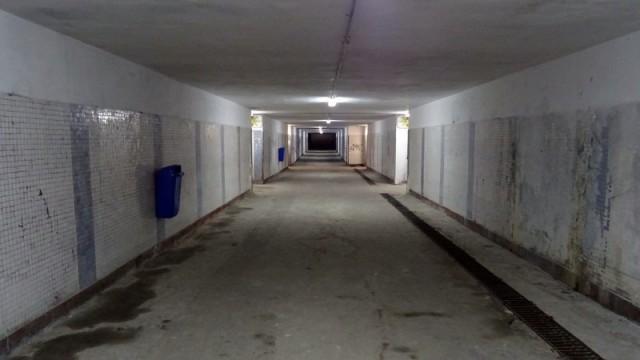 Gara Bacau - pasajul  refacut de CFR