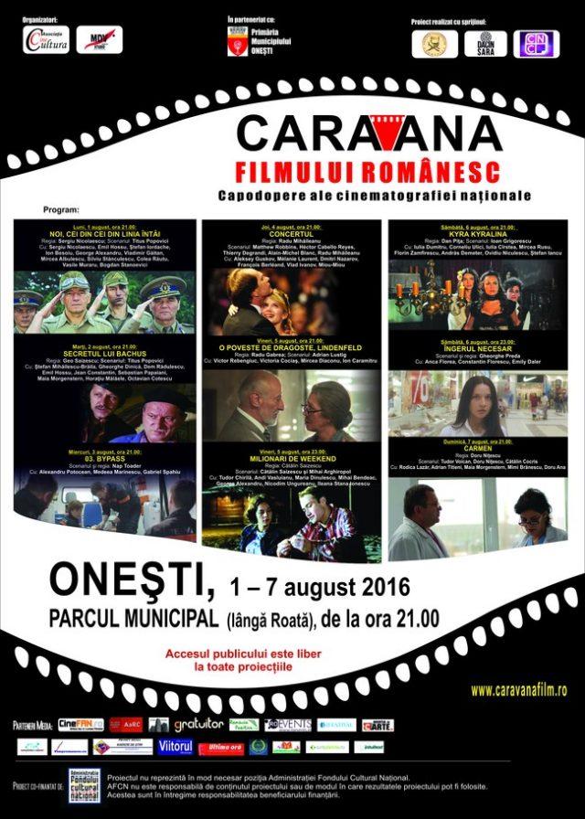 afis Caravana la Onesti 20161