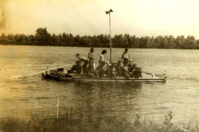 intrarea pe Dunare