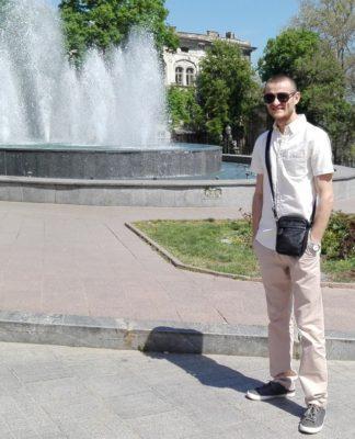 Mihail Cojocaru și primul său pas… spre o lume mai bună