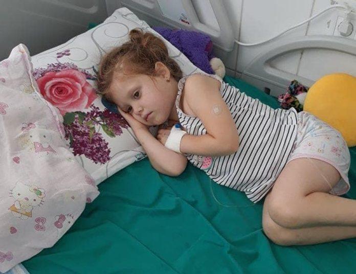 Împreună, putem salva viaţa Patriciei, o fetiţă de numai 4 ani